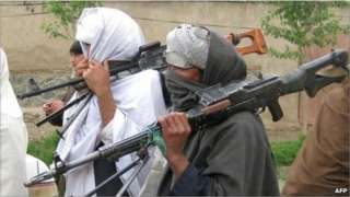 Taliban fighters in Afghanistan