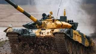 T-72 tankı