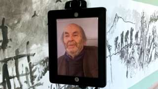 Sir Quentin Blake does the robot