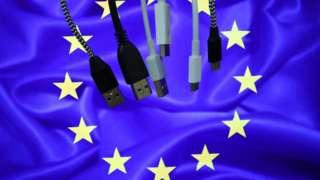 Кабеля на флаге Европы