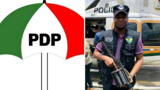 Opposition party PDP and Abba Kyari
