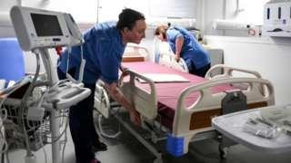 NHS bed