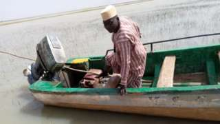 Dis na di only boat wey dem get now and e don spoil