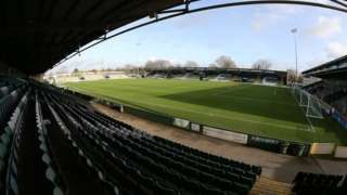 Huish Park, home of Yeovil Town FC