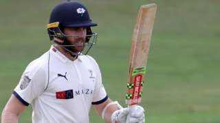 Kane Williamson in action for Yorkshire