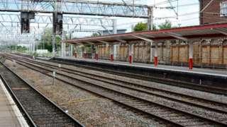 Crewe railway station, Cheshire