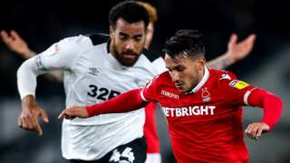 Derby v Nottingham Forest