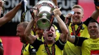 Harrogate celebrate promotion