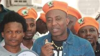 Omoyele Sowore bụ onye ndu pati African Action Congress