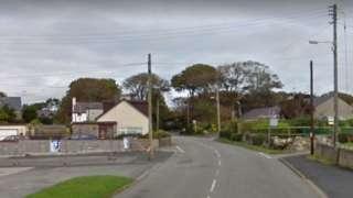 B4422 at Bethel, Anglesey