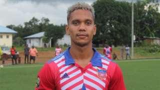 Seth Kanteh Hellberg in Liberia kit