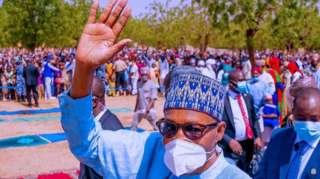 Nigeria President Muhammadu Buhari celebrate Eid-el-Kabir for im hometown Daura, Katsina state
