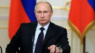普京周二签署了核威慑政策文件,报说普京准许对常规进攻进行核报复