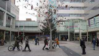 Slough High Street ahead of tier four restrictions