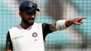 "Kia Oval, London, Britain - September 6, 2018 India""s Virat Kohli during nets"