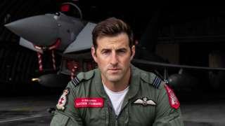 RAF pilot Flight Lieutenant Mathew Stannard