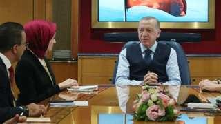 Erdoğan, Rusya'dan dönüşte soruları yanıtladı