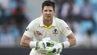 Australia captain Tim Paine