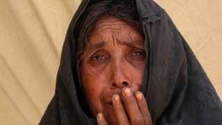 နေရာရွှေ့ပြောင်းလာတဲ့ ကန်ဒဟာမြို့က အမျိုးသမီး။ အစားအစာပြတ်လပ်မှုနဲ့ အာဖဂန်တစ်ဝက် ရင်ဆိုင်နေရေတယ်လို့ ကုလ သတိပေး