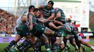 Leicester have lost just once at Welford Road since October - to leaders Exeter