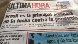 jornal paraguaio Ultima Hora