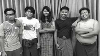The five members of Peacock Generation who have been jailed