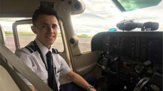Trainee Pilot James Aubrey