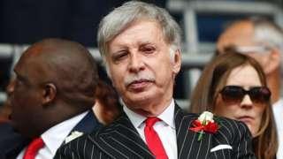 Arsenal's majority shareholder Stan Kroenke