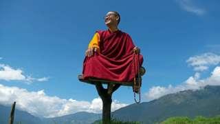 Rinpoché était le plus jeune maître spirituel du Bhoutan lorsqu'il a pris ses fonctions en 2009