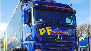 Perennial Freight lorry