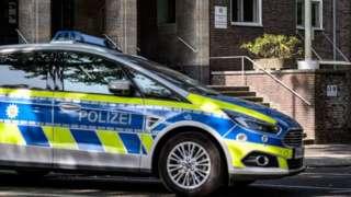 German police car (file pic), 17 Sep 20