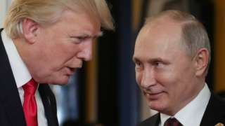 Trump-Putin meeting at APEC summit in Vietnam, 11 Nov 17