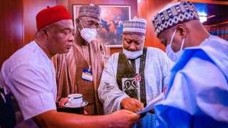 APC party members tanda for Abuja, Nigeria