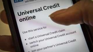 Universal credit online application