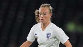 England's Toni Duggan
