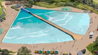 An image of the proposed surf lagoon