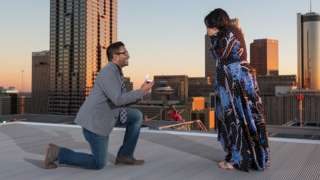 After meeting the love of her life on Twitter, Sumita Dalmia was still surprised when her boyfriend Anuj used the social media platform to arrange their engagement.