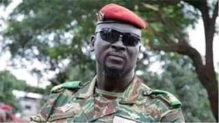 Colonel Mahamady Doumbouya, Guinea coup leader