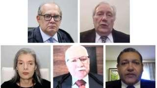 Ministros da segunda turma do STF