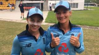 Tammy Beaumont and Danni Wyatt