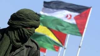 Man in Western Sahara