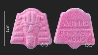 Pharaoh pills found in Manchester