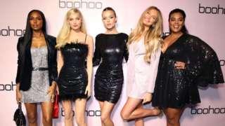 Models at a Boohoo event