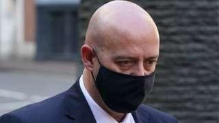 PC Benjamin Monk arrives at Birmingham Crown Court on 2 June