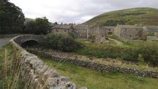Village in Yorkshire Dales