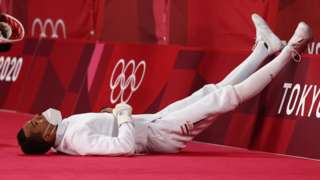 Ахмед Эль-Генди отдыхает после матча