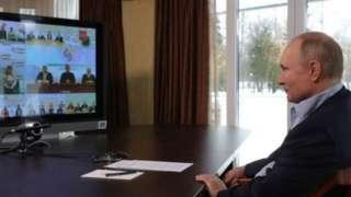 Tổng thống Putin giao lưu trực tuyến với sinh viên Nga