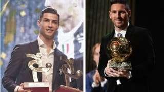 Cristiano Ronaldo ati Lionel Messi