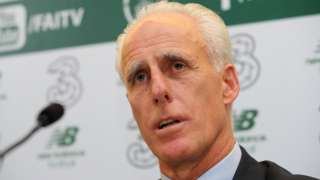 "Mick McCarthy says he ""was never going to turn down"" the Republic job"