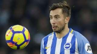 Brighton defender Markus Suttner